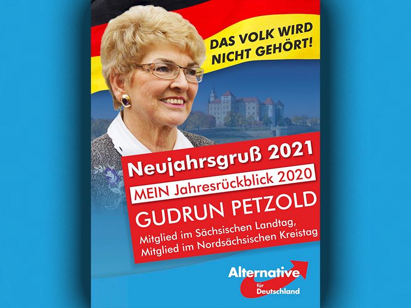 """""""Das Volk wird nicht gehört"""": Mein Neujahrsgruß 2021"""